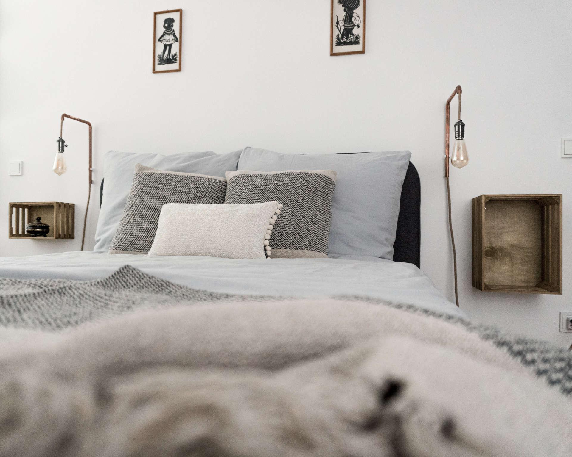 Minimalistisches Cozy Schlafzimmer Von Der Einrichtung Bis Zur Farbe